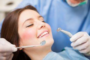 happy at dentist visit